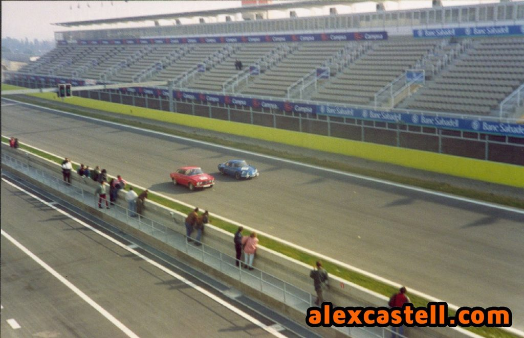 Alfa i Alpine a pista