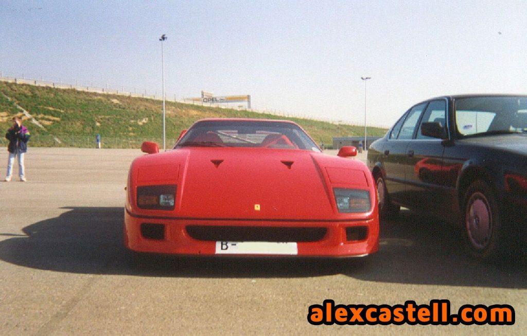 Ferrari F40 Clásicos en Montmeló