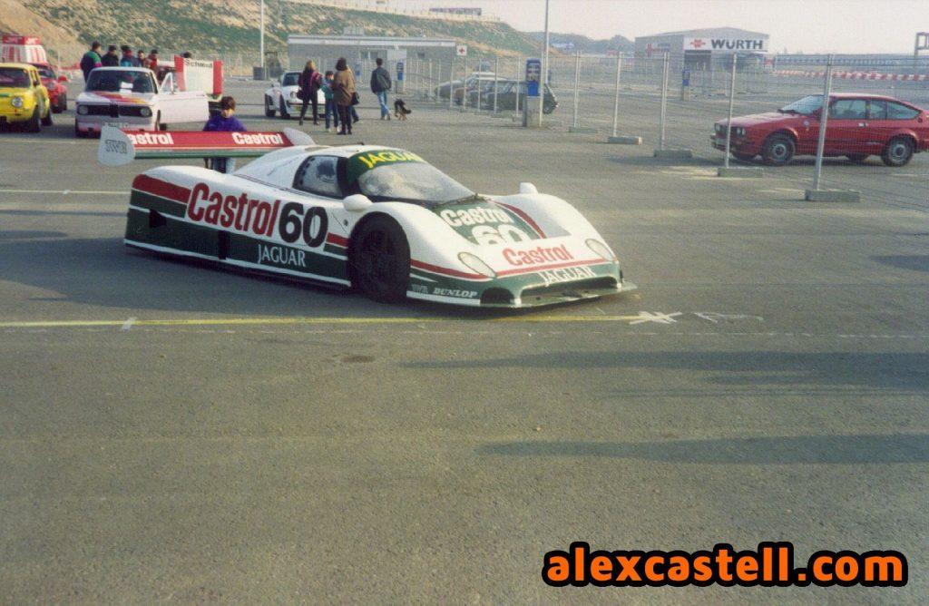 Jaguar Castrol